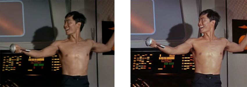 shirtless sulu