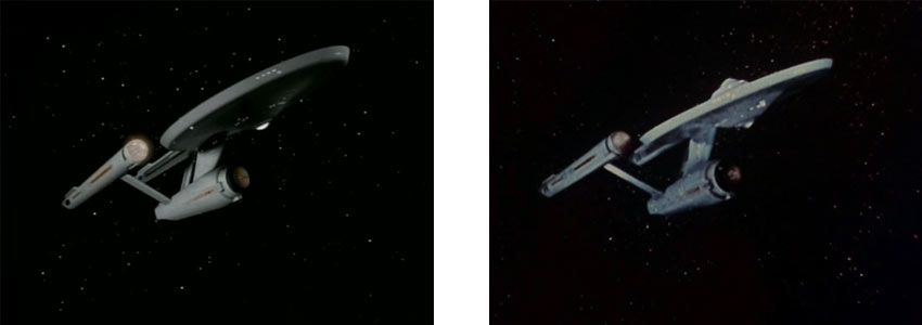 Enterprise takes damage